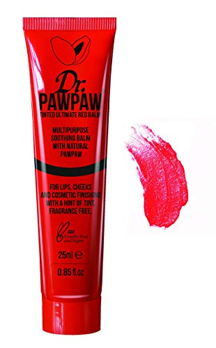 Dr. PAWPAW Tinted Ultimate Red Balm for Lips and Skin, 1 x 25ml