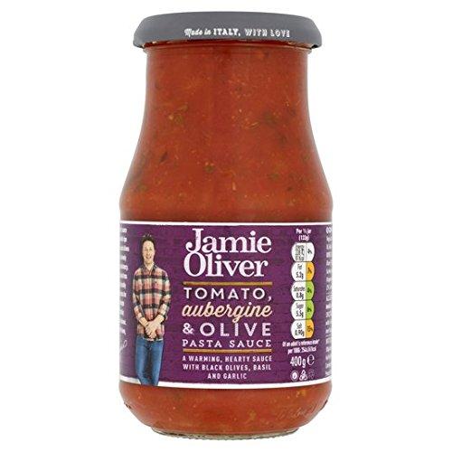 Jamie Oliver Pomidory, bakłażan i oliwki, 400 g