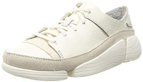 Clarks Originals Trigenic Evo Dress Shoes 42 EU White Leather