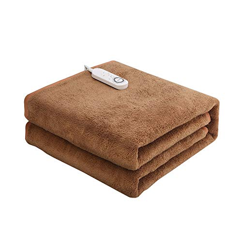 Electric Blankets & Mattress Toppers Double Electric Blanket, Household Safety, No Radiation, Dual Control, Four-Speed Temperature Adjustment, Intelligent Downshift, Dehumidification and Mite Removal