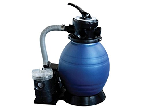 12' Top-Mount Above-Ground Swimming Pool and Spa Sand Filter and .35 HP Pump Sys