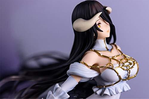 Yvonnezhang 25 cm Overlord Albedo Anime Cartoon mädchen Anime PVC Action-Figuren Spielzeug Anime Figur Spielzeug Für Kinder Kinder, kleinkasten