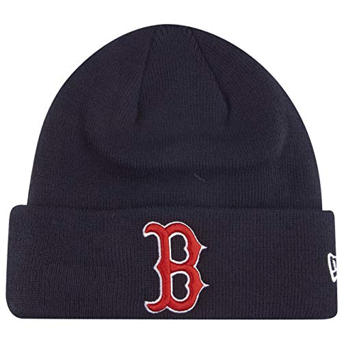 New Era MLB Essential Cuff Knit Bos OTC Gorra, Unisex Adulto, Navy,...