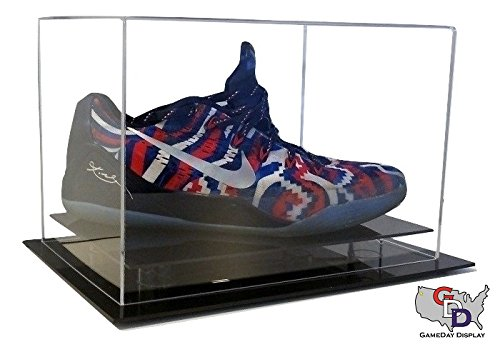 GameDay Display Desk or Counter Top Shoe Display Case Size 12 and Under by