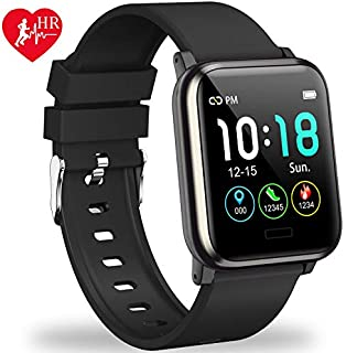 L8star Fitness Tracker HR, Activity Tracker with 1.3inch...