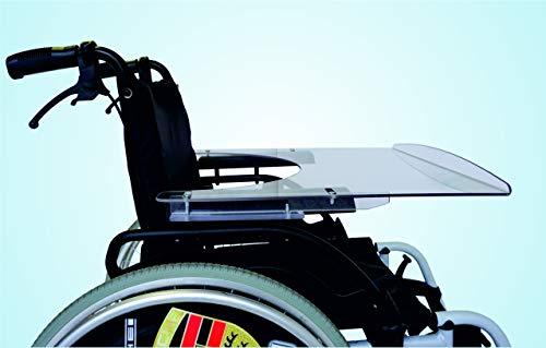 TheraMedical Rollstuhl-Kindertherapietisch 5 mm mit Vorderkante, verschiedene Sitzbreiten (28-32 cm)