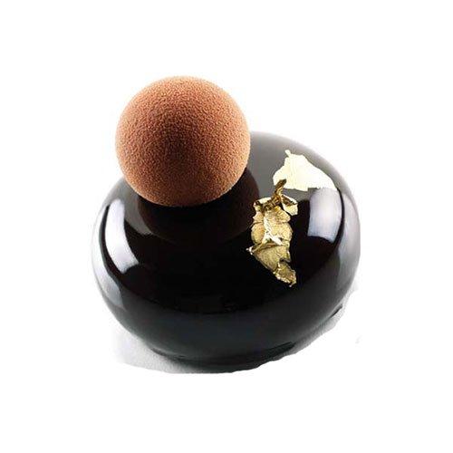 Cuisineonly - Stampo in silicone, 8 tondi bombati, per pasticceria Articolo da pasticceria.
