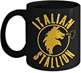 Rocky Balboa Italian Stallion Fun Present Coffee Mug, Tea Cup, Funny, Quote, Present Idea For Women And Mother, Father's Day, Sister, Brother, Parent