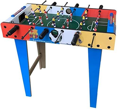 JSY Fußball-Tabelle for Kinder Tischfußball Toy Tabletop Tischspieltisch Doppel Erwachsener Eltern-Kind-Tabelle Typ Großes Puzzle Boy Geschenk Hockey Tischfußball Tischfußball Billardtisch Tischtennis