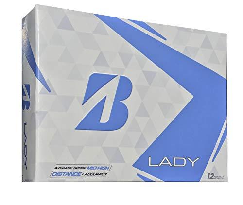 Bridgestone Golf 2015 Lady Precept Golf Balls (Pack of 12), White