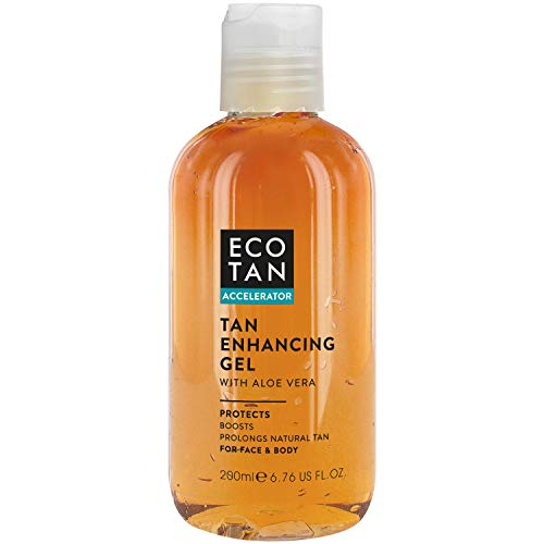 Gel Eco Accelarator Tan Autobronceador rostro y cuerpo 200 ml