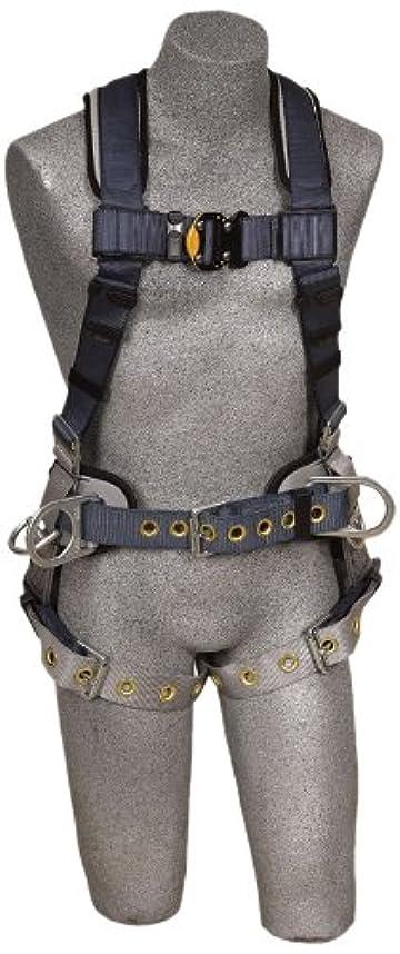 一緒に吸収剤実験をするDBI/Sala 1100531 ExoFit Iron Worker Vest-Style Full Body Harness, Blue/Black, Medium by DBI-Sala
