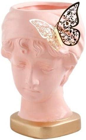 GLKHM Sculpture Appreciation Bust Ceramics Flower Pot Weekly update Excellent Human Head