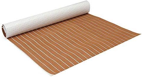 Luxury goods N\C FXIXI 120x240cm Brown and White Faux Foam Boa EVA Teak supreme Sheet
