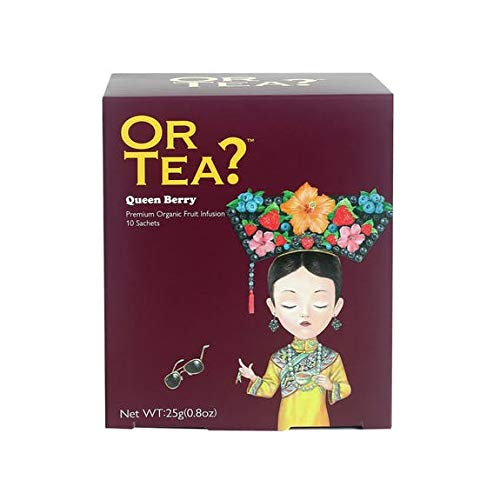 OR TEA? Queen Berry Premium Organic Fruit Infusion 10 Teebeutel 25g