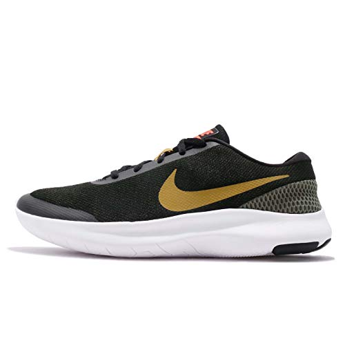 Nike Men's Flex Experience RN 7, Black/PEAT Moss-Medium Olive (11 US, Black/PEAT Moss-Medium Olive)