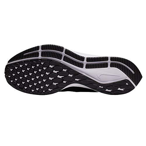 Nike Air Zoom Pegasus 36, Zapatillas de Correr Hombre, Negro (Black/White/Thunder Grey 002), 43 EU