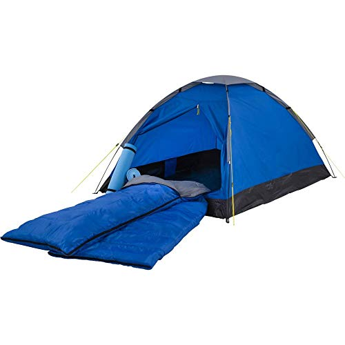 McKinley Campingzelt-Set Festent (Farbe: blau-grau)