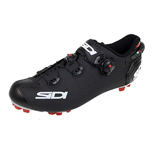 Sidi MTB Drako 2 SRS Schuhe Herren matt Black Schuhgröße EU 45 2020 Rad-Schuhe Radsport-Schuhe