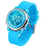 Kids Digital Sport Waterproof Watch for Girls Boys, Kid Sports Outdoor LED Electrical Watches with...