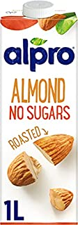 Alpro Almond No Sugars Long Life Drink 1L  100% Plant-Based  Vegan  Unsweetened & Dairy Free   Pack of 8 (B00O8PIRNA)   Amazon price tracker / tracking, Amazon price history charts, Amazon price watches, Amazon price drop alerts