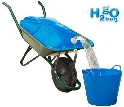 H2go-tasche 80 Liter-a way of Transport von bis zu 80 Liter Wasser in der Schubkarre besteht keine Wasserschlauch erhältlich.