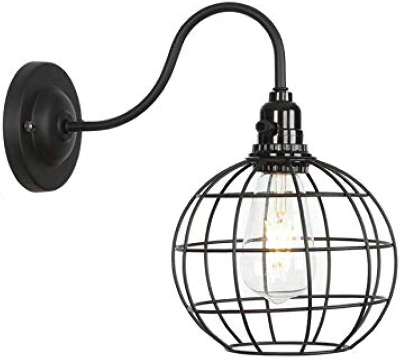 Chandelieramerican Industrial Retro Schlafzimmer-Nachttischlampe, Hintergrund-Wand-Fernsehwand-Wand-Jane Retro Gang-Wand-Lampe