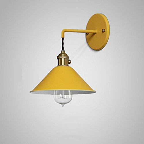 LDG wandlamp, retro, LED, modern, woonkamer/allee/slaapkamer/trap/nachtkastje, kleur kleine paraplu, macarons Een