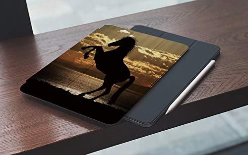 iPad 7./8. Generation shell,iPad 10.2 2019/2020,Horror Stump Elderly Cartoon Halloween, Double-fold Stand with Shockproof TPU Back Cover, Auto Wake/Sleep