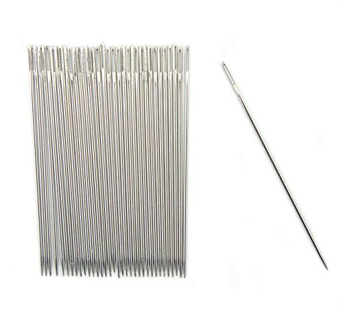 Best Bargain Easy to Thread 6.5cm/2.6 Hand Sewing Needles, Pack of 30