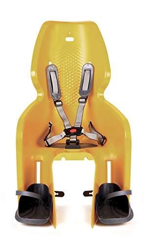Bellelli Lotus Standard, Kindersitz hinten für Kinder, Gelb, Befestigung am Rahmen