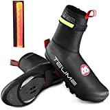 TEUME Bike Shoe Covers with Led...