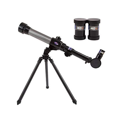 Acptxvh 20X-40X Telescopio de Ciencia Ajustable para niños Ciencia y educación Juguetes educativos cognitivos