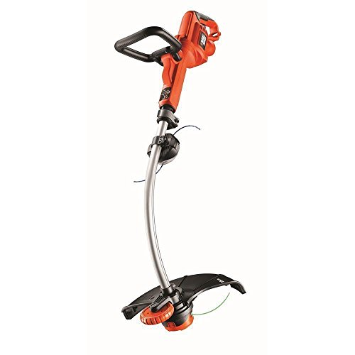 BLACK+DECKER GL7033-QS Coupe-bordures filaire - Poignée ajustable 5 positions 700W, Noir, Rouge, 33 cm