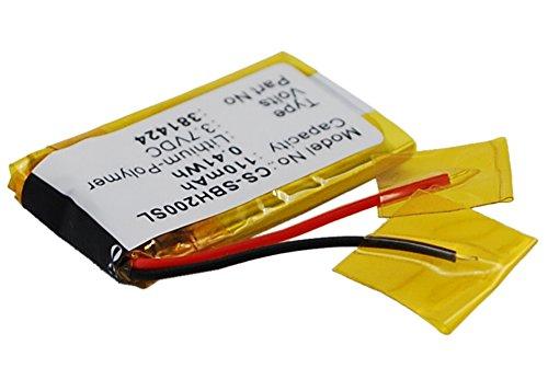 110mAh Battery for Sony SBH-20