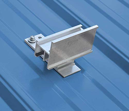 SnoCleat PBR Aluminum Snow Guards for Metal Roofs (Includes Three 2 inch Wood Purlin Screws)