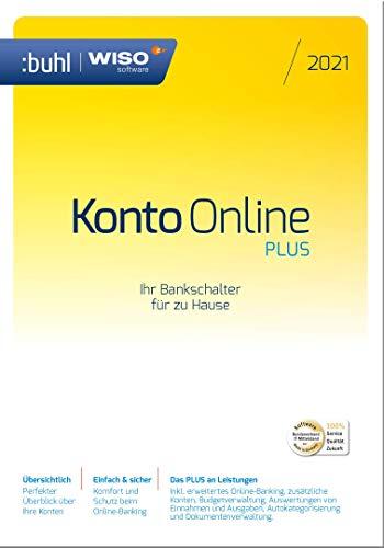 WISO Konto Online Plus 2021 [Online Code] | PC | PC Aktivierungscode per Email