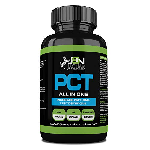 PCT- ALL IN ONE- Cycle Support - 60 Caps - UK Manufactured Lab Tested - Super Strength Cycle Capsules - Professional Grade PCT with 9x Powerful Active Ingredients - Restore Natural Testosterone Levels