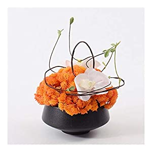 NYKK Decoration Fake Plant Potted Artificial Flower Bonsai, with Vase, Used for Room Living Room Table Decoration, Realistic Design Looks Natural Table Centrepieces