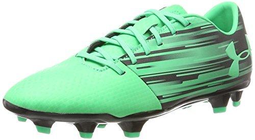 Under Armour UA Spotlight DL FG, Chaussures de Football Homme, Jaune (High-vis Yellow 731), 43 EU