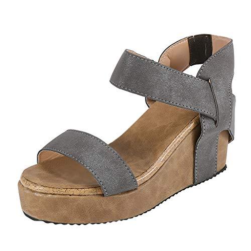 Dames wigvormige sandalen Wedges schoenen Slingback sandalen ademend strand sandalen Basic riemjessandalen By Vovotrade