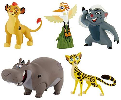 Komplette Serie: Die Garde der Löwen | 5 Figuren | Bullyland