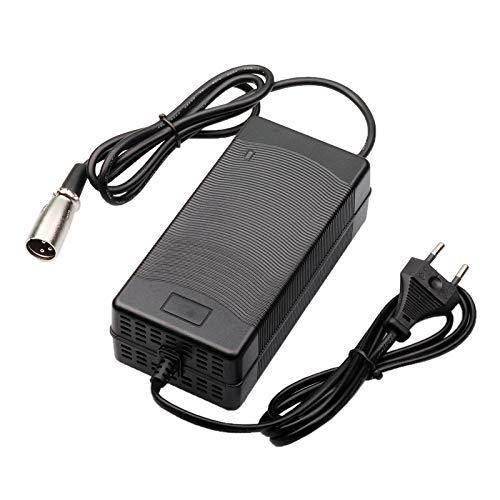 TangsFire 48V Li-Ion Cargador de batería 54.6V 2.5A para Paquete eléctrico Scooter de Litio Ebike 13S Baterías xlrm...