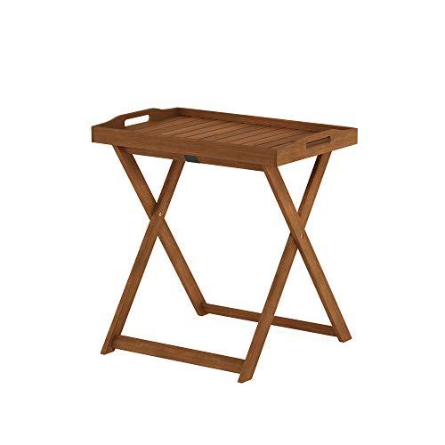 Furinno FG19557 Tioman Outdoor Hardwood Tray Table, Natural
