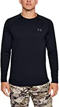 Under Armour Men's Packaged Base 4.0 Crew T-Shirt , Black (001)/Pitch Gray , X-Large