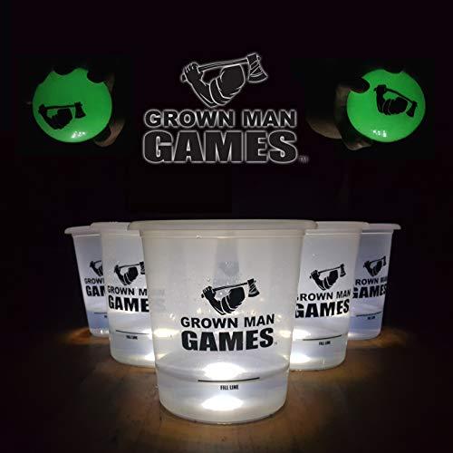 Grown Man Games Glow in The Dark Yard Pong
