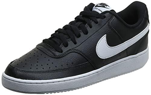 Nike Court Vision Lo, Scarpe da Ginnastica Uomo, Nero (Black/White-Photon Dust 001), 44 EU
