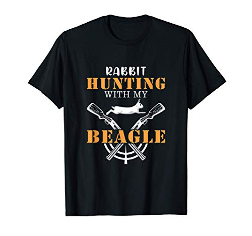 Rabbit Hunting With My Beagle - Cute Proud Hunter outfit T-Shirt
