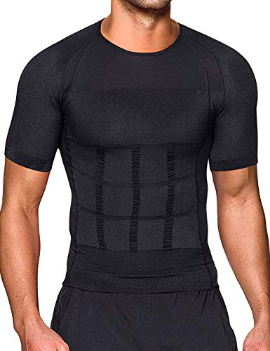 Hombres Body Shaper Chaleco Reductor Adelgazantes