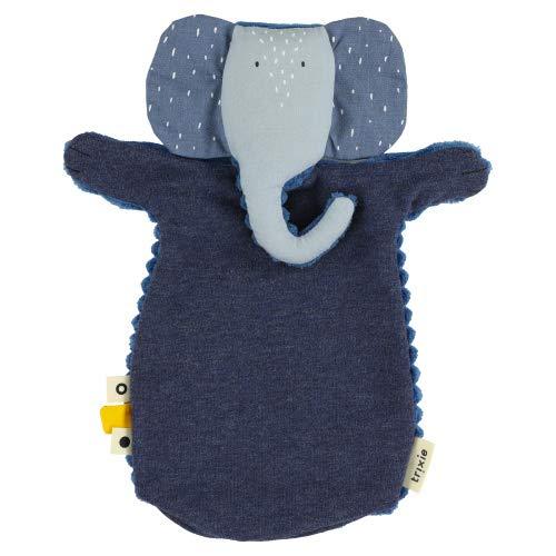 Trixie Baby Marioneta de mano elefante azul